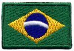 Patch Bandeira do Brasil Oficial Pequena
