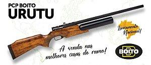 Carabina PCP Urutu 5,5mm BOITO + Bomba Hand Pump ROSSI (15 A 20 DIAS PARA ENTREGA)