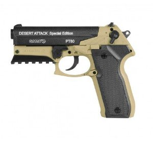 Pistola CO2 PT-80 Desert Attack SE 4,5mm Gamo