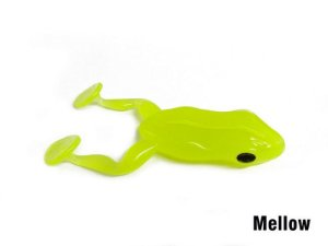 Isca Artificial Soft Paddle Frog Mellow Monster 3x
