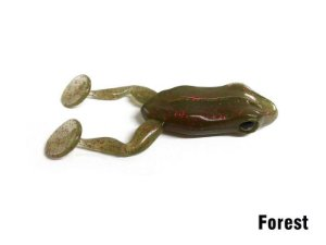 Isca Artificial Soft Paddle Frog Forest Monster 3x