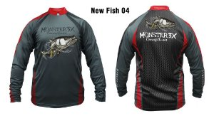 Camiseta de Pesca New Fish Robalo Monster 3x