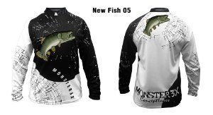 Camiseta de Pesca New Fish Traíra Monster 3x