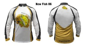 Camiseta de Pesca New Fish Dourado Monster 3x