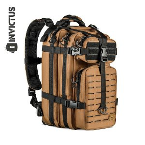 Mochila Assault Laser Cut Coyote Invictus