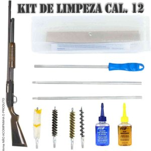 LH Kit De Limpeza Para Espingarda CAL .12