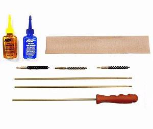 LH Kit De Limpeza Para Carabina CAL .22