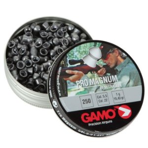 Chumbinho Esportivo Pro Magnum 5,5mm 250 Unidades - Gamo