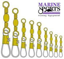 Girador BSS Nº 1/0 Gold Com Snap Marine Sports