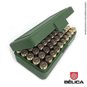 Porta Munição Retangular Para os Calibres .40|7,65|38|9mm Bélica