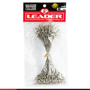 Chicote Leader Nickel 6 - Pacote C/10 Marine Sports
