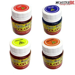 Tinta Color Bait Para Iscas Tipo Soft Monster 3x