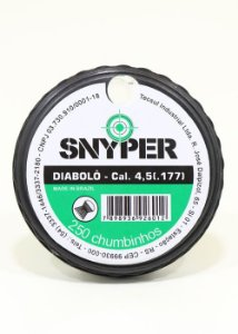 Chumbinho Diabolo Snyper Cal. 4,5mm