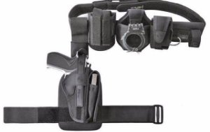 Cinto Agente Completo Com Coldre Para Pistola CM0041 - Cia Militar