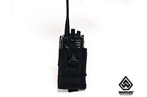 Porta Radio Police Com Sistema M.O.L.L.E - Warfare