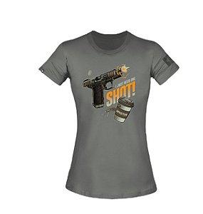 T-Shirt Concept Espresso Feminina - Invictus