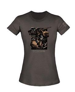 T-Shirt Concept Feminina K9 - Invictus