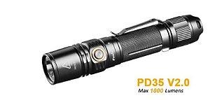 Lanterna Tática PD35 V2.0 LED 1000 Lumens - Fenix
