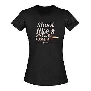 T-Shirt Concept Respect Feminina - Invictus
