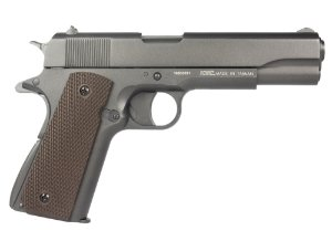 Pistola de Pressão de CO2 KWC 1911 - SLIDE METAL