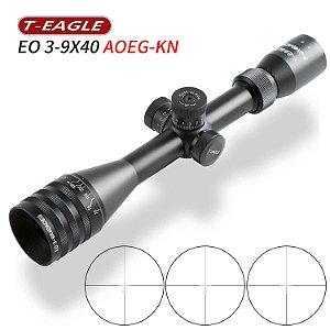 Luneta (Mira Ótica) T-EAGLE para Armas Longas EO 3-9X40AOEG KN