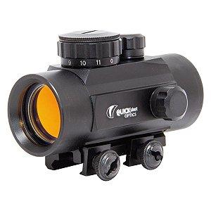 Red Dot Quickshot 1x30 com Trilho Reversível 11/22mm
