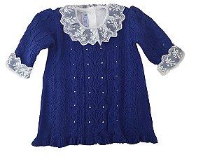 Vestido de Trança com Mini Pérolas (com body)