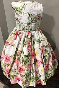 - Vestido floral Richelieu