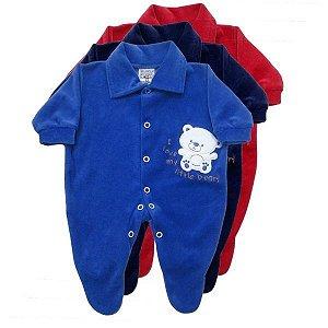 Macacão em Plush - Prematuro - Baby Passo a Passo [Unidade]