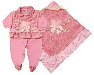 Saída da Maternidade Princess Ref.: 26087 - Koxilinho