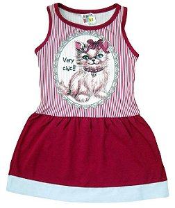 Vestido Regata Very Chic Ref.: 6244 - Sempre Kids