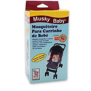 Mosquiteiro para Carrinho de Bebê Ref.: 1318 - Musky Baby