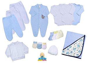 Kit Basic Day Recém Nascido 12 peças - Menina, Menino e Unisex
