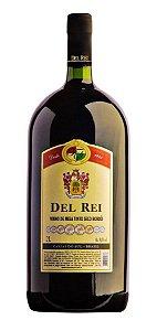 Vinho Del Rei Tinto Seco Bordo 2 L