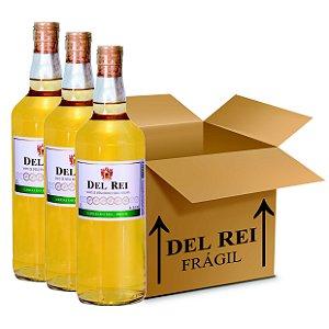 Vinho Colonial Del Rei Branco Seco Niagara 1l - Box Com 12 Unidades