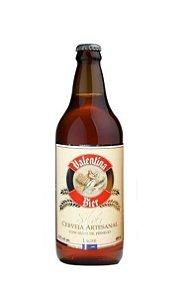 Cerveja Valentina Bier Silver Pêssego 660ml - Fruit Beer