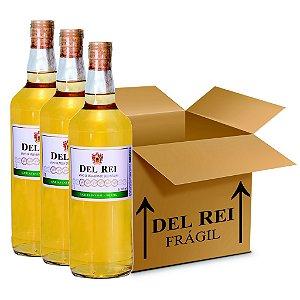 Vinho Colonial Del Rei Branco Seco Niagara 1l - Box Com 36 Unidades