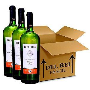 Vinho Del Rei Branco Suave Niagara 1l - Box Com 36 Unidades