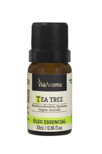 Óleo essencial de Tea tree (Melaleuca alternoflia)