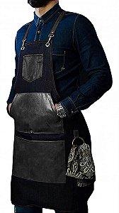 Avental Barber, Garçom, Modelo Drake
