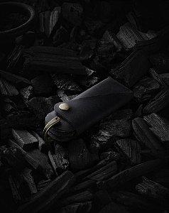 Porta Chaves Couro G-Dragon - Edição Limitada - Preto