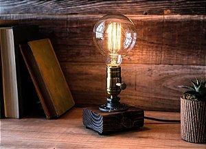 Luminária de Mesa Vintage