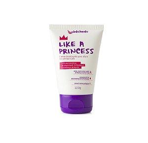 Like a Princess- Creme de Alívio para Pernas e Pés PinkCheeks-100g