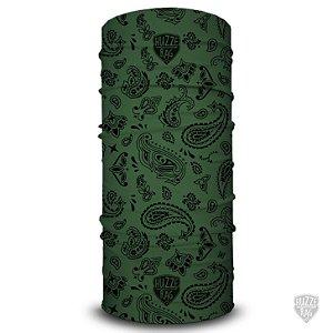 Bandana Tubular Huzze-Rag Hippie Verde
