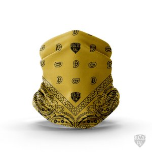 Bandana Tube Neck Huzze-Rag Rock Amarela