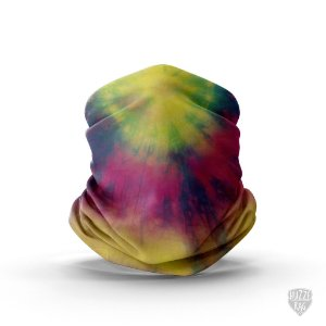 Bandana Tube Neck Huzze-Rag Tie-Dye New