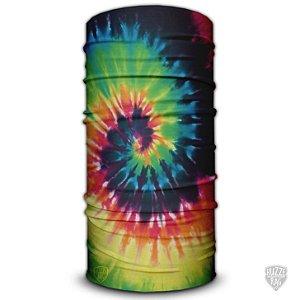 Bandana Tube Neck Huzze-Rag Tie-Dye Espiral
