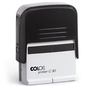 Carimbo C30 4.7x1.8 cm