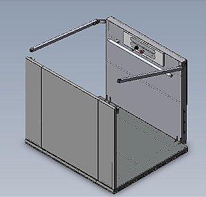 AC02 BASE + CARENAGEM + FECH 180° (1100X1400) + ANTI-ESMAG + CANCELA