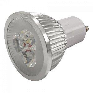 LÂMPADA LED GU10 3W - BRANCA FRIA 127V-220V